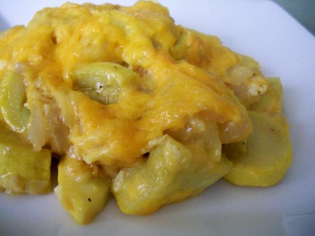 Better Squash Casserole (No Bread Crumbs, Crackers or Stuffing!). Photo by *Parsley*