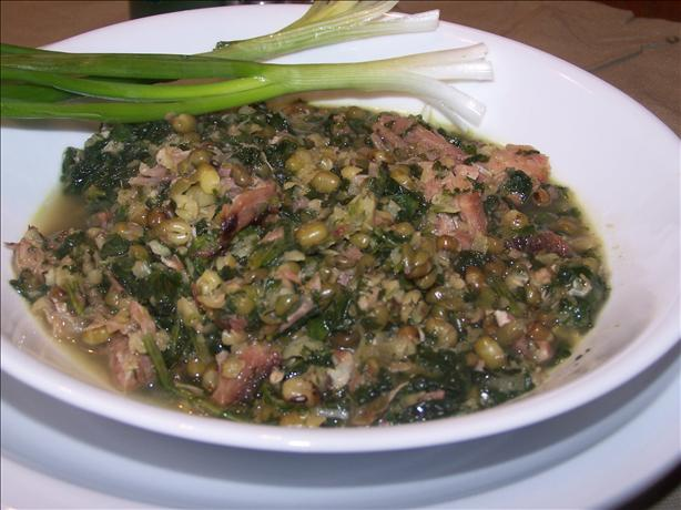 Hearty Whole Mung Bean Soup. Photo by PaulaG