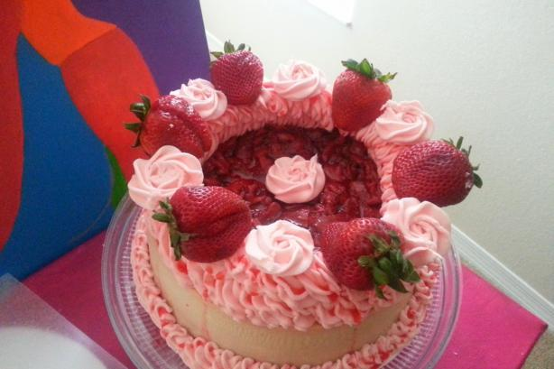 Strawberry Cheesecake. Photo by chefsweetpea21