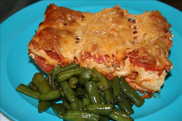 Cream Cheese Lasagna. Photo by MummaOf3