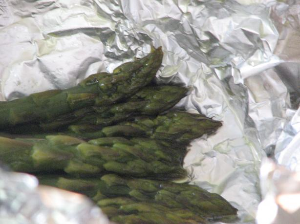 Foil Baked Asparagus. Photo by Bonnie G #2