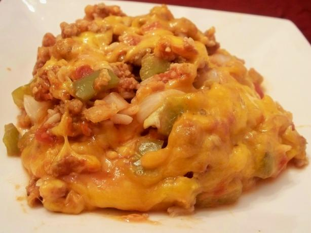 Un-Stuffed Bell Pepper Casserole ( Crock Pot ). Photo by *Parsley*