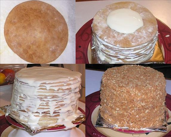15 Layer Russian Honey Cake. Photo by littlepetel