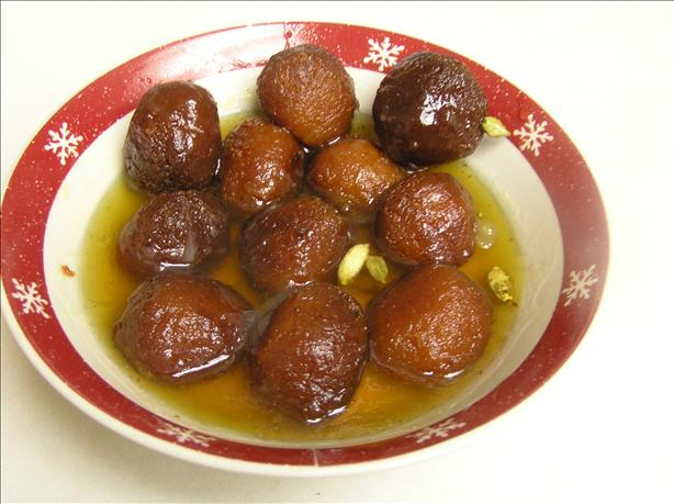 Sweet Milk Balls (Gulab Jamun). Photo by sharda