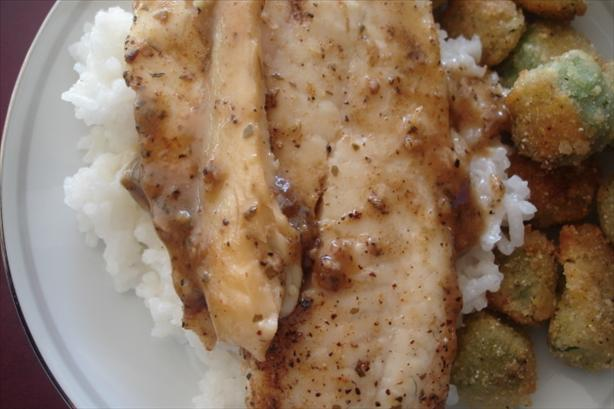 Joshua's Favorite Tilapia With Jasmine Rice. Photo by Chef Mommie