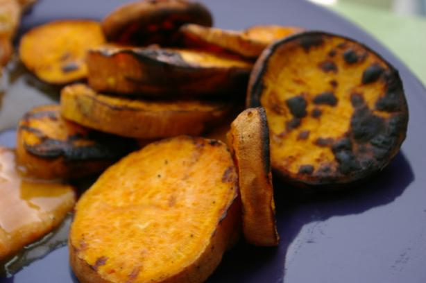 Grilled Sweet Potatoes. Photo by Redsie