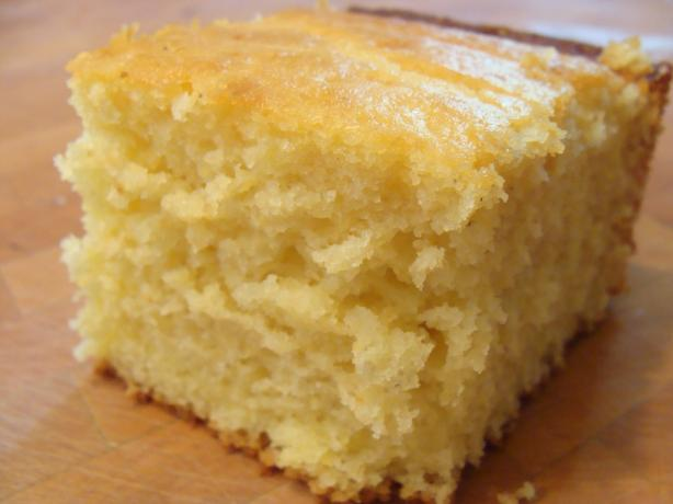 Sweet Cornbread. Photo by Lvs2Cook