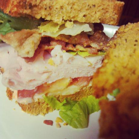 Bacon Turkey Bravo Sandwich. Photo by Delilah Oakley