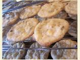 Cream Cheese Walnut  Drop Cookies