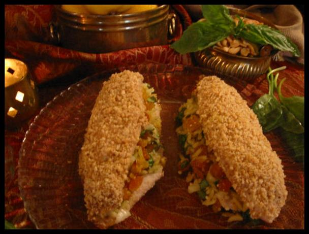 Cashew Crusted Stuffed Tilapia. Photo by NcMysteryShopper