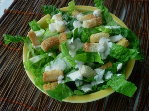 Kittencal's Famous Caesar Salad. Photo by Loves2Teach