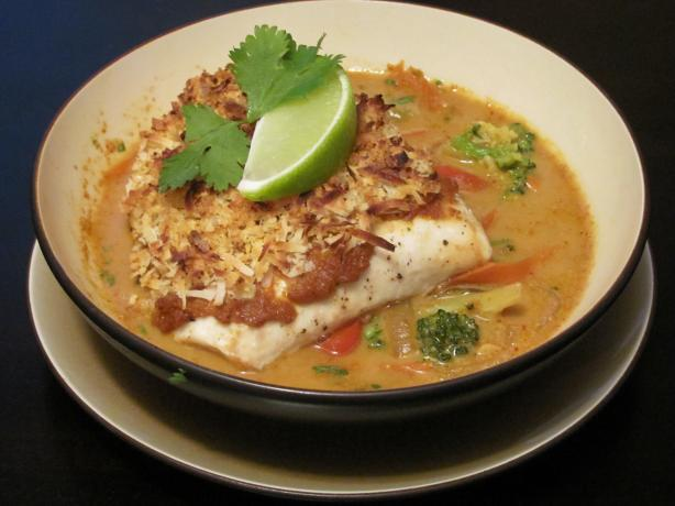 ... Global Culinary Arts: Broiled Tilapia With Thai Coconut- Curry Sauce