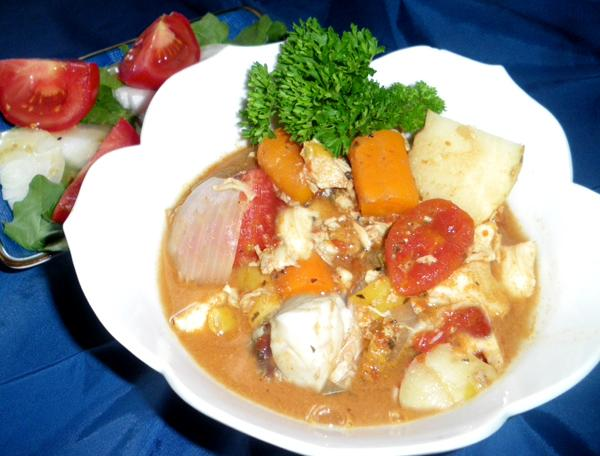 Harry's Island Bouillabaisse. Photo by Bergy