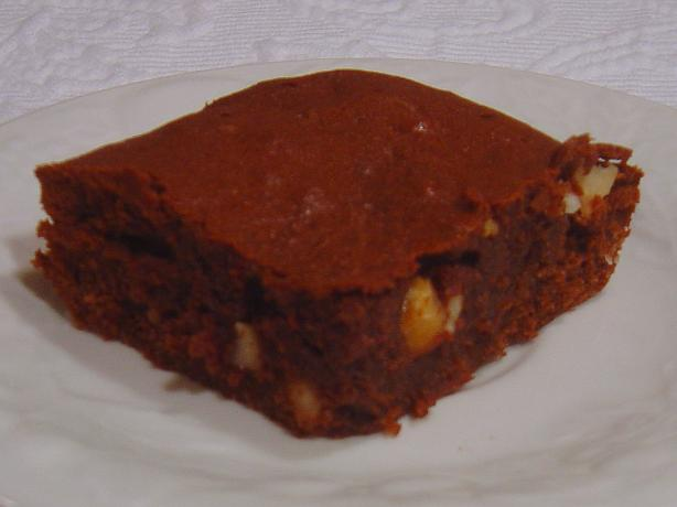 Chocolate Macadamia Nut Brownies. Photo by :(