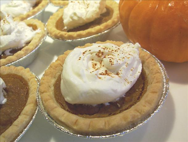 Light and Spicy Pumpkin Pie Tarts. Photo by * Pamela *
