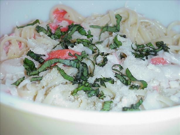 Crab Delight Fettuccini. Photo by Lennie