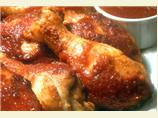 Grilled Chicken in Kentucky Bourbon Barbecue Sauce