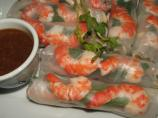 Fresh Spring Rolls With Shrimp for Two