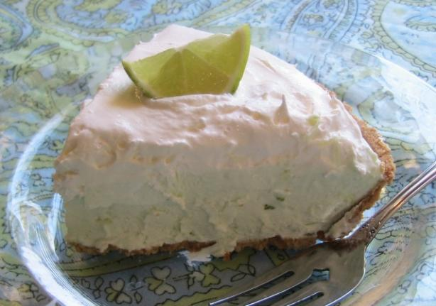 Margarita Cheesecake Pie (Easy No-Bake). Photo by BecR