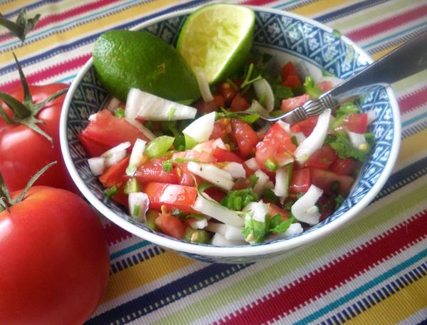 Fresh Pico De Gallo (Salsa Fresca). Photo by Bergy