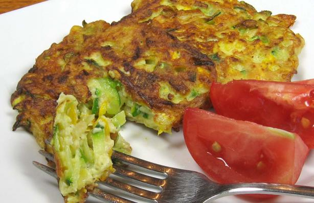 Fabulous Zucchini Fritters. Photo by dianegrapegrower