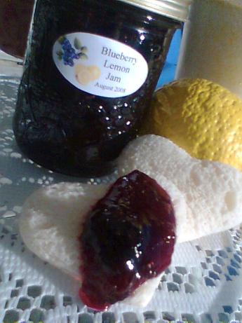 Blueberry-lemon Jam. Photo by Diana #2