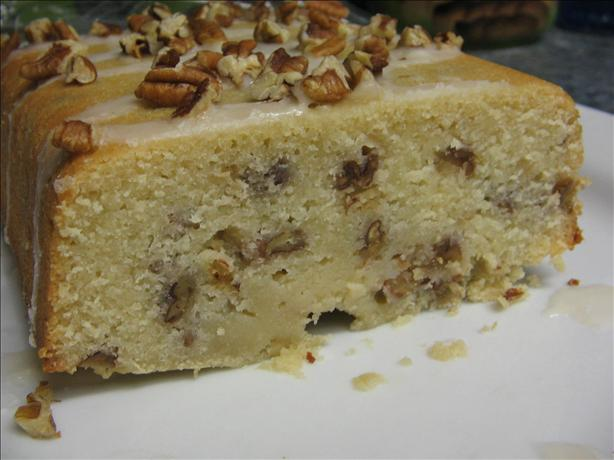 Cream Cheese Bourbon Pecan Pound Cake. Photo by Vino Girl