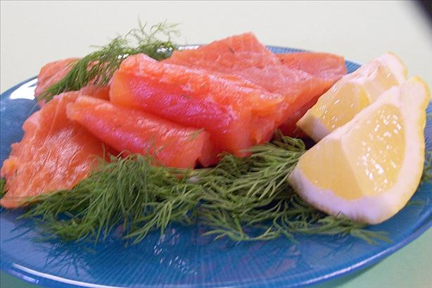 Julia Child's Traditional Gravlax. Photo by Mme M