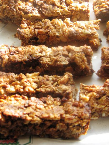Chewy Granola Bars. Photo by loof