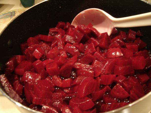 Harvard Beets for the Freezer (or Right Away). Photo by Catnip46
