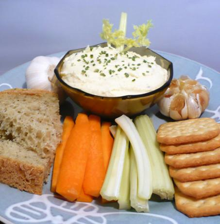 Roasted Garlic Cheese Spread. Photo by twissis