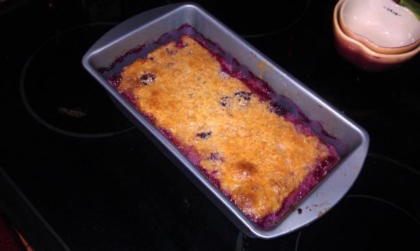 Low Carb Strawberry Cobbler. Photo by Chef #1040468