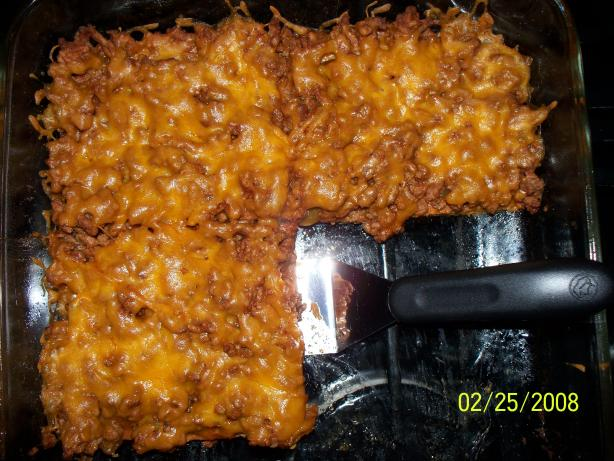 Low Carb Taco Bake. Photo by Eway03