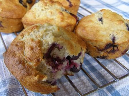 Blueberry Banana Muffins. Photo by DuChick