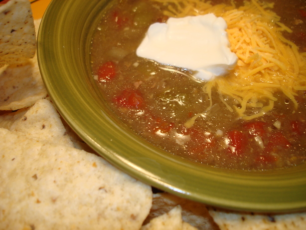 Green Chili, Mexican Style. Photo by Vicki in CT