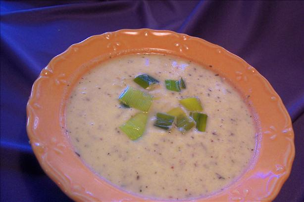 Creamy Fennel and Leek Soup. Photo by *Parsley*