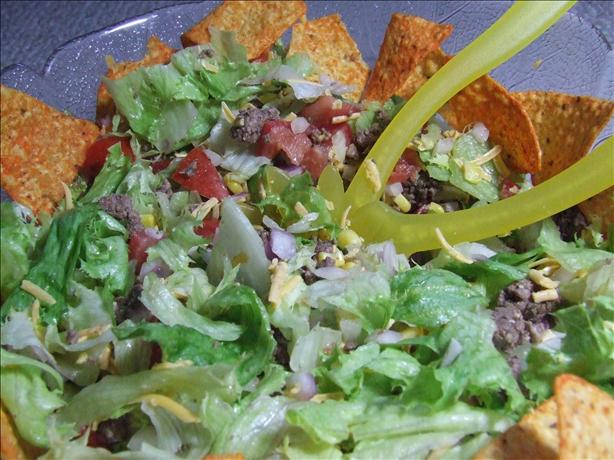 Kittencal's Taco Salad for a Crowd. Photo by CountryLady
