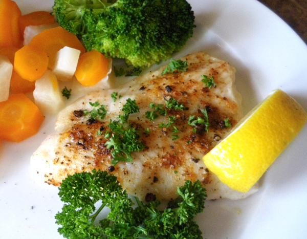 Mep's Easy, Tasty Tilapia. Photo by Bergy