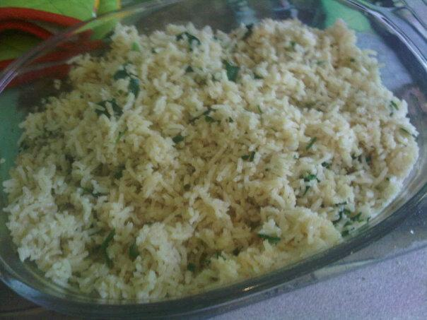 Butter Baked Rice (Oamc). Photo by FeelinYummy