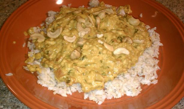 Cashew Chicken Curry. Photo by kclime