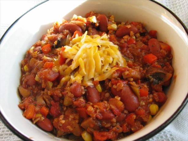 Easy Spicy Vegetarian Chili. Photo by flower7