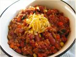 Easy Spicy Vegetarian Chili