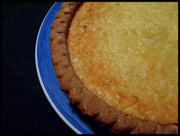 Lime-coconut Buttermilk Pie. Photo by NcMysteryShopper