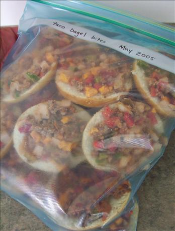Taco Bagel Bites (Oamc). Photo by * Pamela *