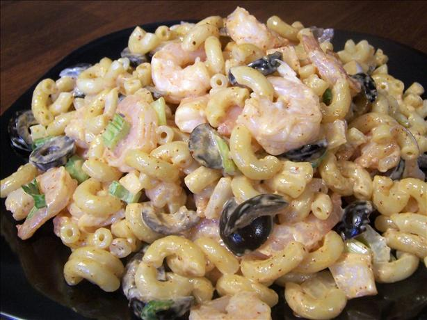 Ditalini Pasta Shrimp Salad. Photo by *Parsley*