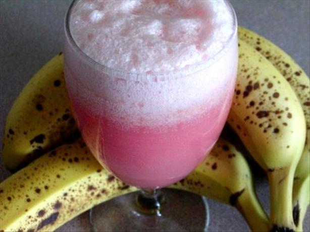 Pineapple, Coconut,  Banana Rum Delight. Photo by Rita~