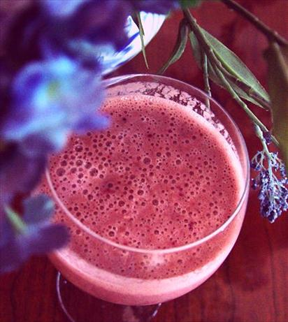 Berry Orange Smoothies. Photo by Bev