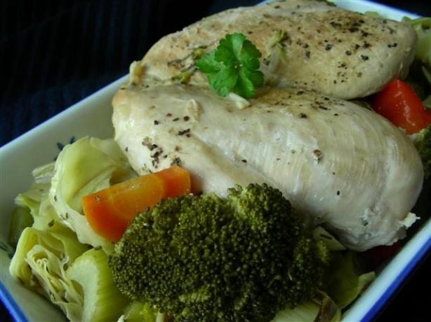 Crock Pot Low Calorie Lemon Chicken. Photo by kiwidutch
