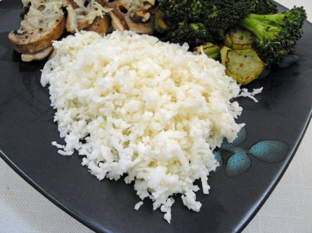 Cauliflower Rice - Low Carb. Photo by Debbwl