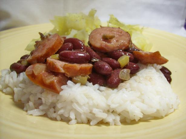 Treebeard's Red Beans (And Rice). Photo by Chef shapeweaver ©